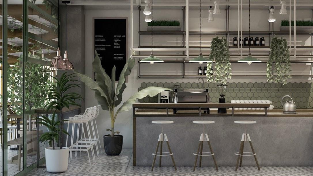 Tham khảo mẫu thiết kế quán cà phê tại đà nẵng