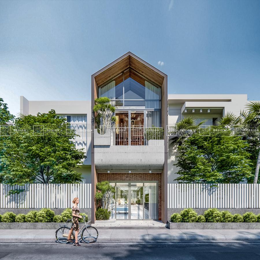 Mẫu thiết kế nhà phố 3 tầng Đà Nẵng