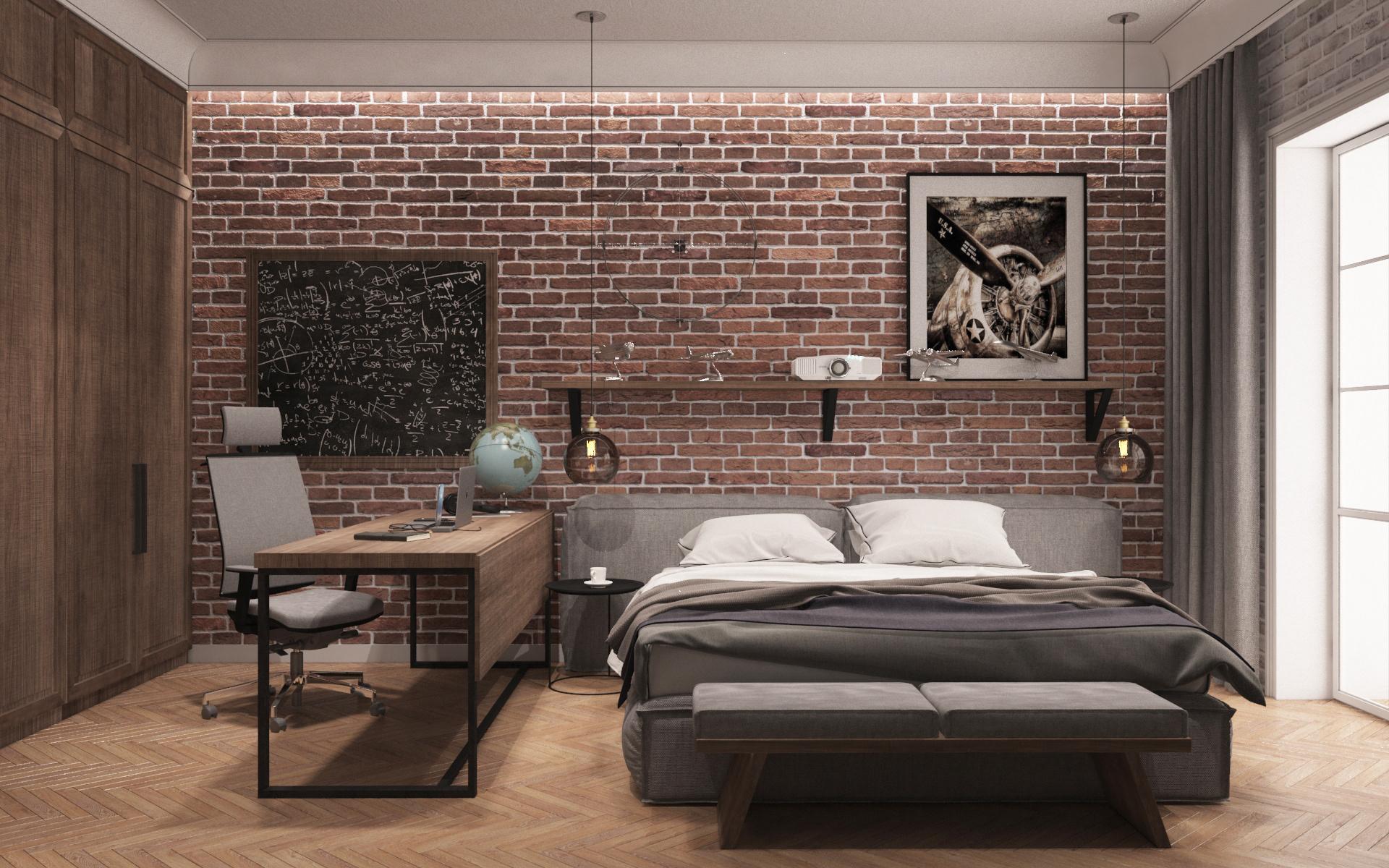 Trang trí nội thất phòng ngủ