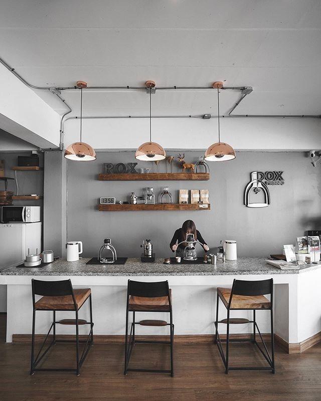 THIẾT KẾ QUẦY BAR QUÁN CAFE HIỆN ĐẠI
