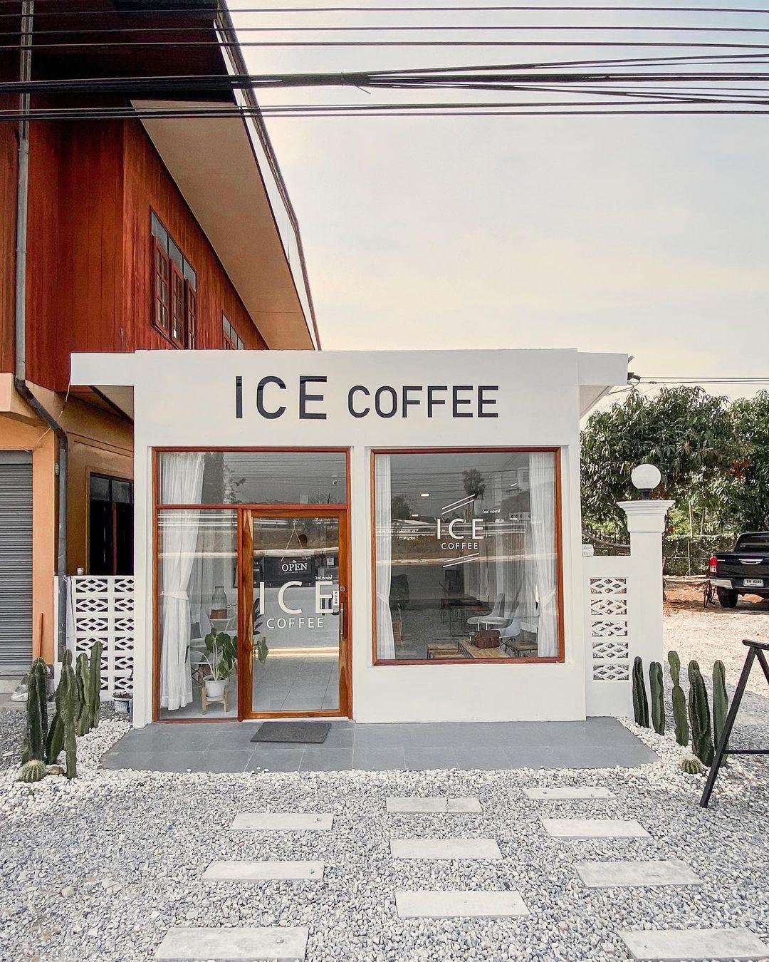 TRANG TRÍ MẶT TIỀN QUÁN CAFE NHỎ