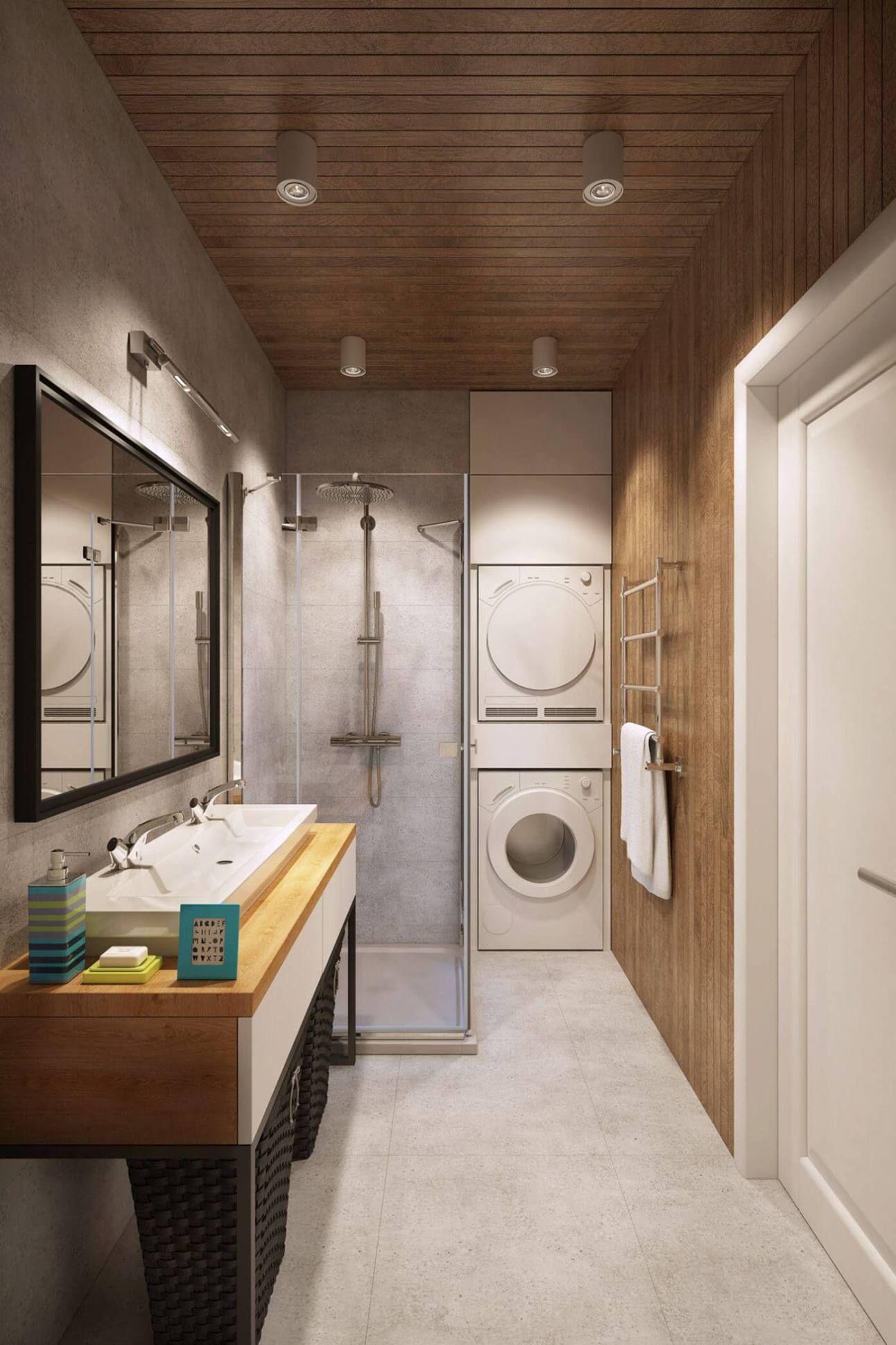Phòng Giặt Hiện Đại