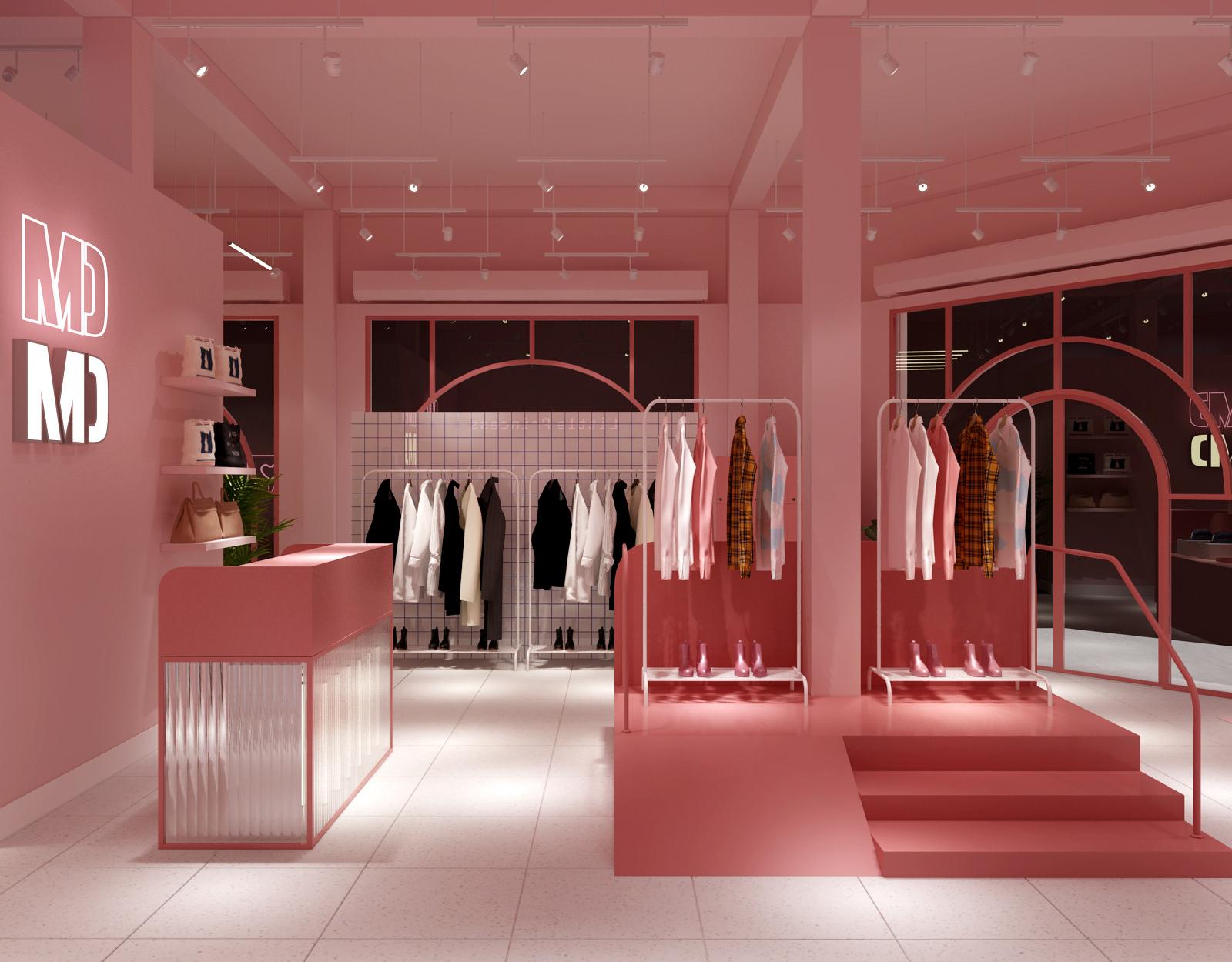 Shop Thời Trang 2 Mặt Tiền