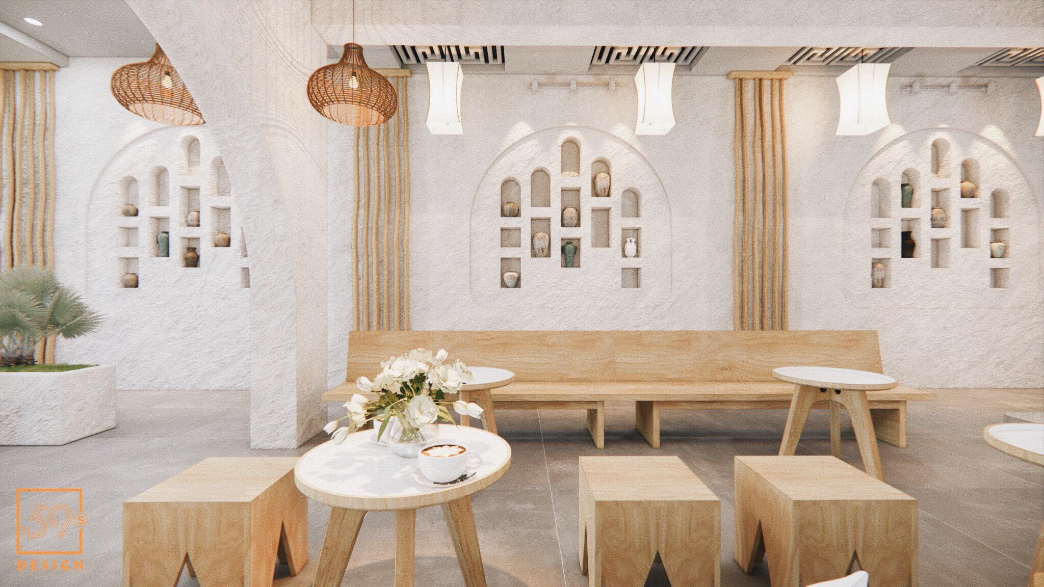Cafe Phong Cách Địa Trung Hải