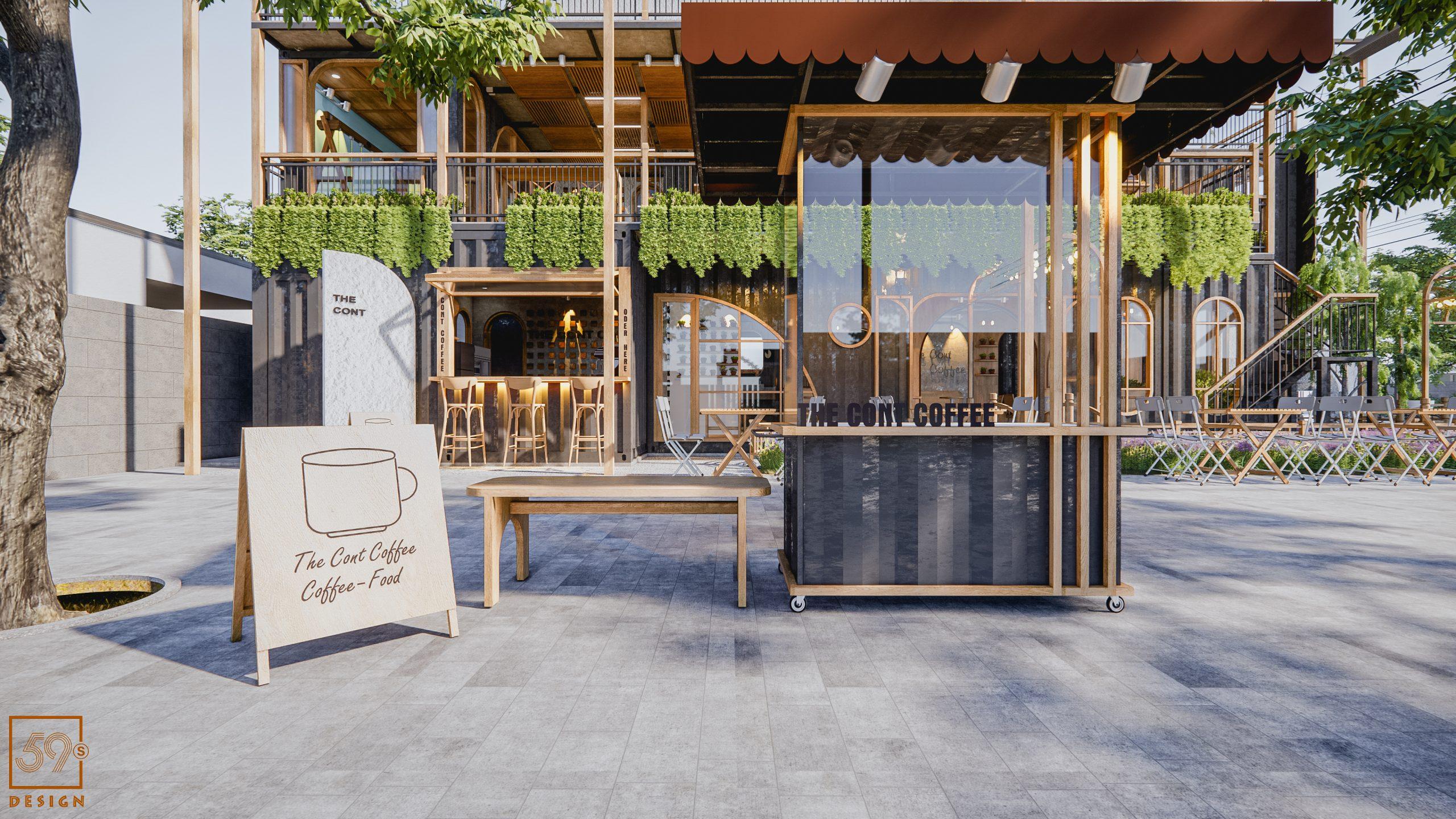 Cafe Container Tại Đà Nẵng